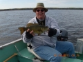 Joh Christensen with smallmouth