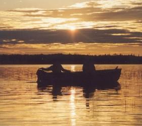 Fishing serenity