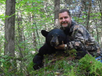 Great bear hunts from Wabaskang Lake in Perrault Falls, Ontario Canada